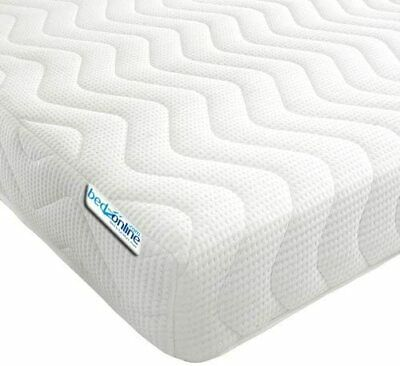 Memory Foam Mattress All Sizes 3Ft, 4Ft, 4Ft6, 5Ft And 6Ft Free Uk Delivery