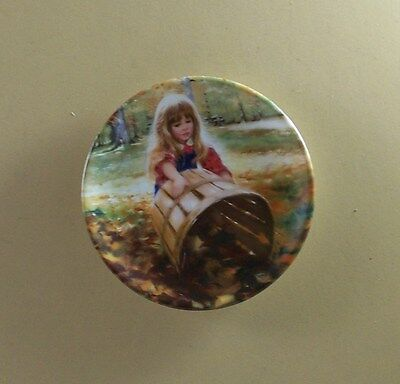 COLORS OF SPRING Mini Plate Childhood Discoveries Donald Zolan MIB + COA #1