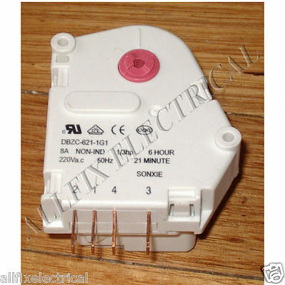 Generic Fridge Defrost Timer 6Hour/21Mins - Part # RF096BB