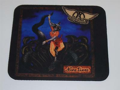 AEROSMITH Nine Lives PROMOTIONAL ONLY MOUSE PAD GEFFEN RECORDS