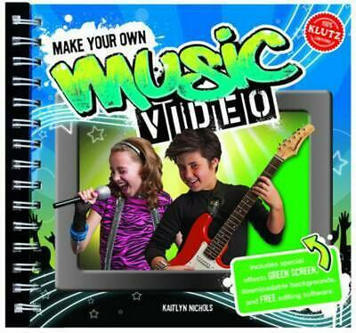 Make Your Own Music Video 6-Pack Paperback Book Free Shipping!