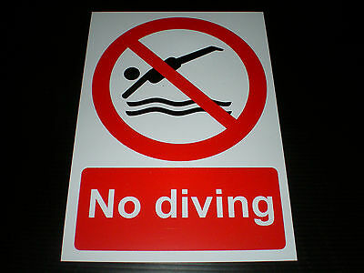 POOL SAFETY SIGNS - POOL RULES - £5.78   PicClick UK