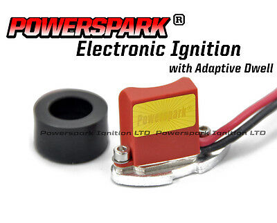 2 x Electronic Ignition Conversion Kit from Powerspark for Lucas 43D 45D 59D etc