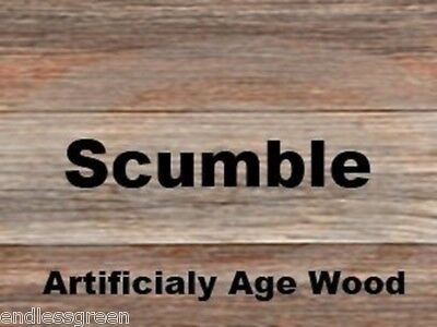 Scumble Crystals - ages Pine to look like Oak ideal wood floor boards beams 100g