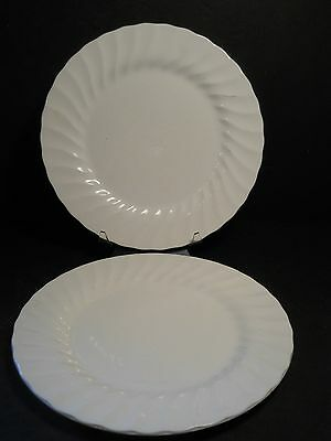 vtg Franciscan Old Chelsea Lot of 2 Dinner Plates Made in Staffordshire England