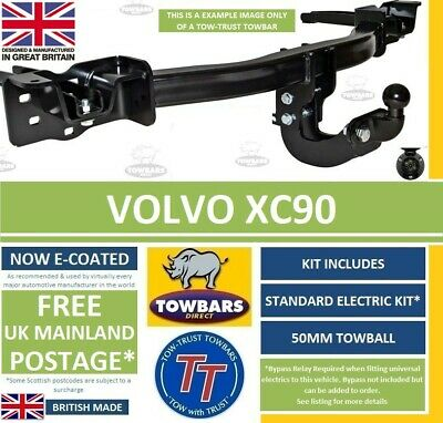 Towbar to fit Volvo XC90 2003 to 2015 Flange Tow Bar including R-Design TVV522