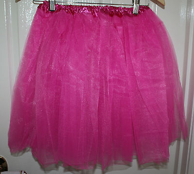 Hot Pink  Adult tutu M-L fits sizes 12-18  Hens night/ Parties /Events  Quality