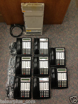 Avaya Lucent AT&T Partner ACS Business Phone System & (8) 18D Phones 700216047