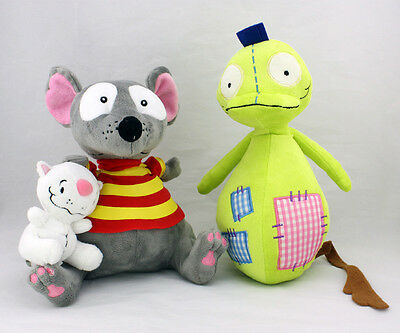 "New 9"" TOOPY And 4"" BINOO And 12"" PATCHY PATCH Set Plush Soft Toys Xmas Gift"