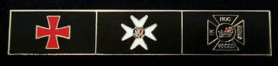 York Rite Knights Templar Order KYCH Uniform Bar Lapel Pin