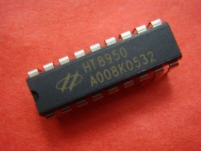 2P x HT8950 IC'S Voice Modulator IC for Audio Amplifier