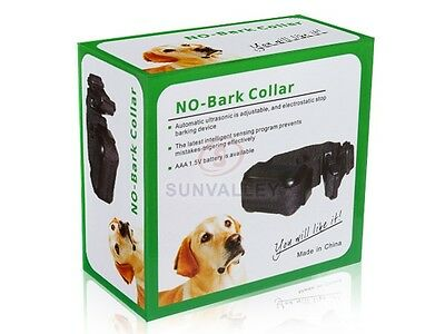 Ultrasonic Anti & No Bark Dog Stop Barking Control Collar for Small/Medium Dog