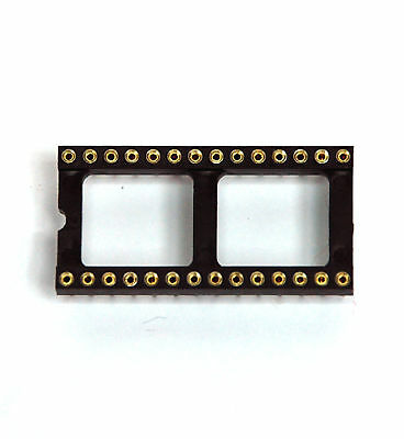 5pc 16 PIN GOLD DIP IC SOCKET PCB ADAPTER SWAPPING,G16S