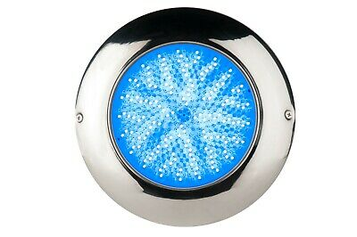 Stainess Resin filled led swimming pool spa lights 18W RGB 12V CE RoHs IP68