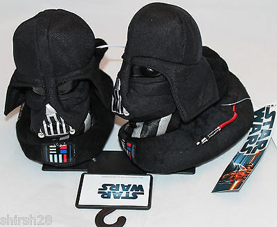 Star Wars Darth Vader Slipper Sock Top Shoes Toddler 5/6 Kids Boys Girls