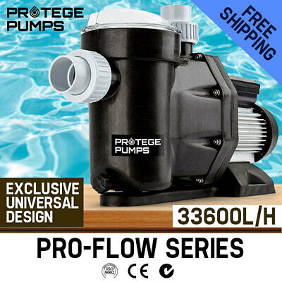 2000W Swimming Pool Spa Electric Water Pump Self Priming Filter 33,600L/H