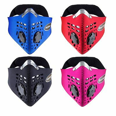 Respro Techno Anti-Pollution Bike Cycle Face Cover Mask Cycling Pollution Filter