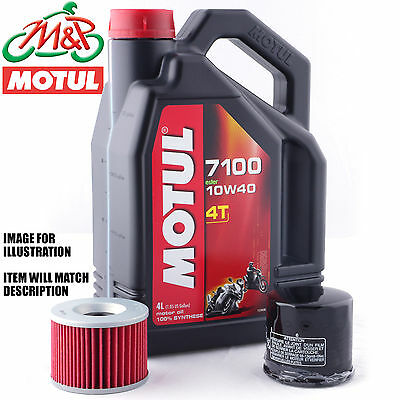 Yamaha XJ 550 J Maxim 1982 Motul 7100 Oil and Filter Kit