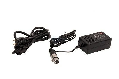 NEW 12V 2A  4-PIN XLR POWER ADAPTER FOR Sony JVC VTR  Camera Pro Broadcast