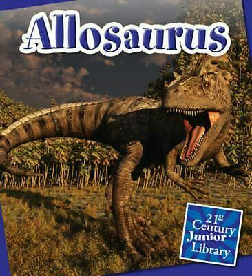 Allosaurus by Lucia Raatma (English) Library Binding Book Free Shipping!