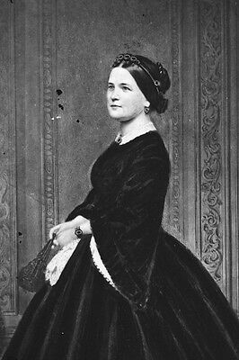 New 5x7 Photo: First Lady Mary Todd Lincoln, Wife of Abraham Lincoln