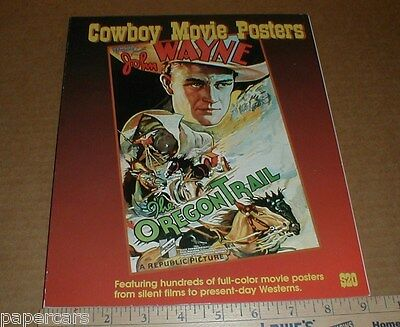 Cowboy Movie Posters Silent Wild West Western Film Vol 2 illustrated history
