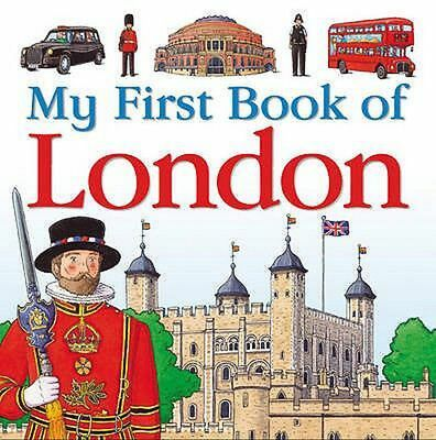 My First Book of London by Charlotte Guillain Hardcover Book (English)