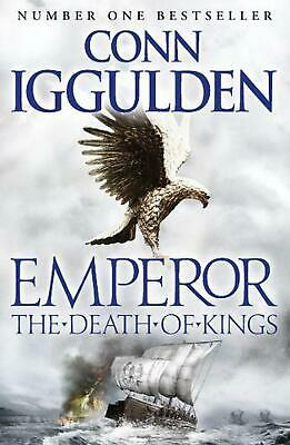 Death of Kings by Conn Iggulden (English) Paperback Book Free Shipping!