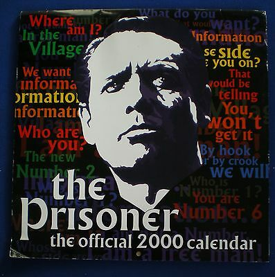 The Prisoner Calendar   2000    Unmarked.