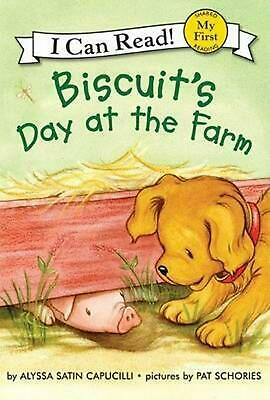 Biscuit's Day at the Farm by Alyssa Satin Capucilli Hardcover Book (English)