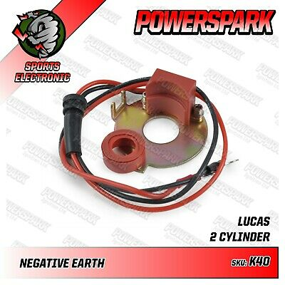 Powerspark Electronic Ignition Kit for Lucas 18D2 Twin Cylinder Distributor