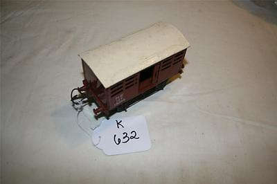 O gauge tinplate  clockwork  hornby wagon  parts repair [k632]