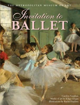 Invitation to Ballet by Carolyn Vaughan (English) Hardcover Book Free Shipping!
