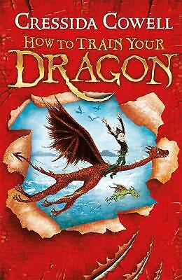 How to Train Your Dragon: Book 1 by Cressida Cowell (English) Paperback Book Fre
