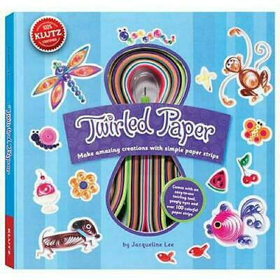 Twirled Paper by Jacqueline Lee Hardcover Book (English)
