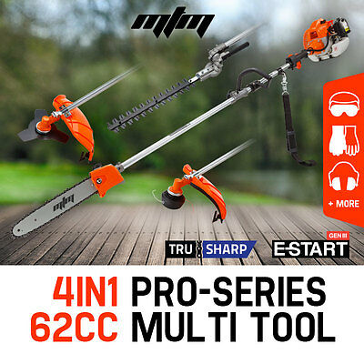 NEW MTM Pole Chainsaw Hedge Trimmer Pruner Brush Cutter Line Whipper Snipper Saw