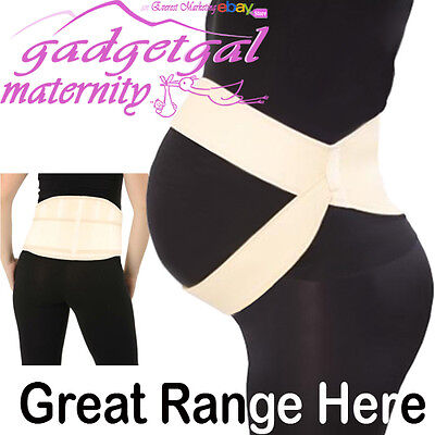 Double banded Pregnancy Maternity Abdominal Back Support Strap Belt Belly Band