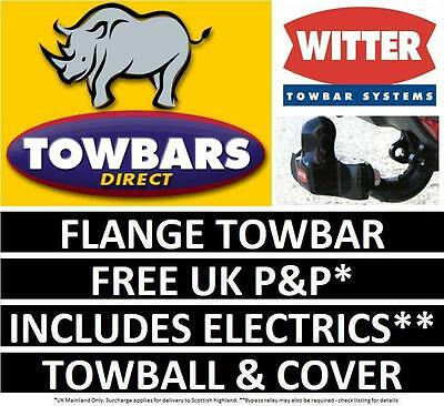 Towbar for Hyundai Terrican 4WD 2001 to 2008 Witter Flange Tow bar HY29B