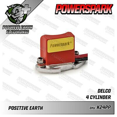 Powerspark Positive Earth Electronic Ignition Kit AC Delco D200 D204 Distributor