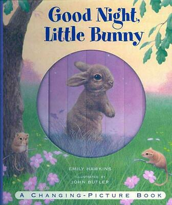 Good Night, Little Bunny by Emily Hawkins Hardcover Book (English)