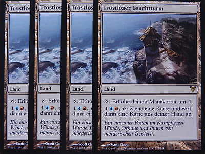 XXX 4x TROSTLOSER LEUCHTTURM desolate lighthouse deutsch (land) NM/MINT XXX XXX