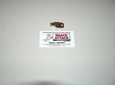 VENDSTAR 3000 BACK DOOR TUBULAR KEY #0189 - New / Free Ship!