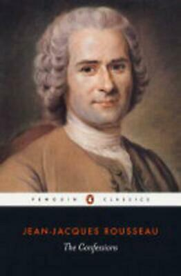 The Confessions by Jean Jacques Rousseau (English) Paperback Book Free Shipping!