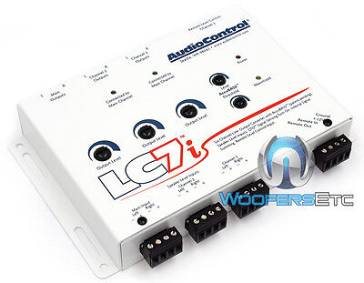 AUDIOCONTROL LC7i WHITE 6-CHANNEL LINE OUTPUT CONVERTER BASS RESTORATION NEW