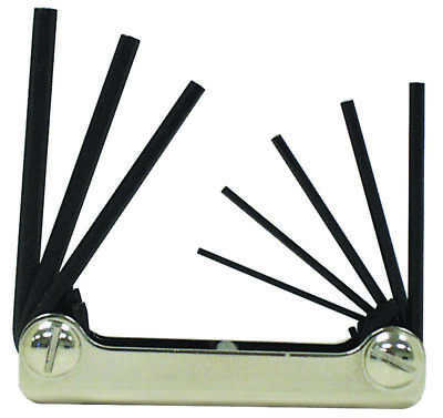 New Eklind 20811 8 Pc Fold Up Sae Allen Hex Key Wrench Set Usa Made Sale 6782304