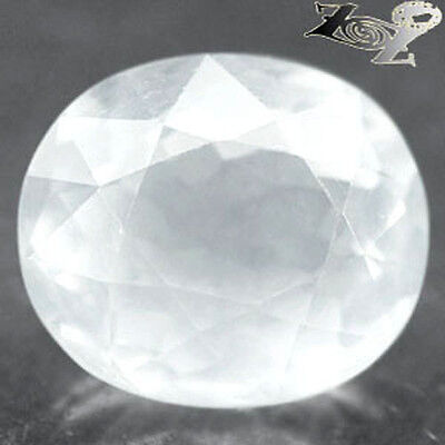5.63 CT.VVS 1 Firely Natural Oval 10.5 * 12 mm.Holy White Afganistan Silverite