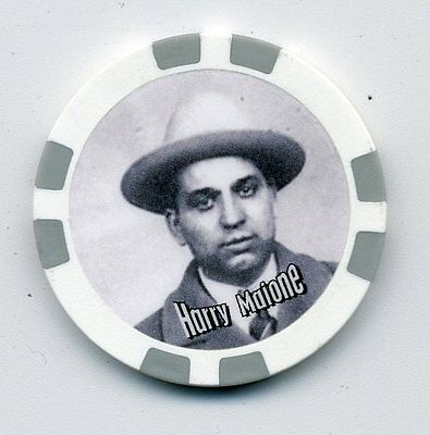 Harry Malone  Gangster  Collector Chip