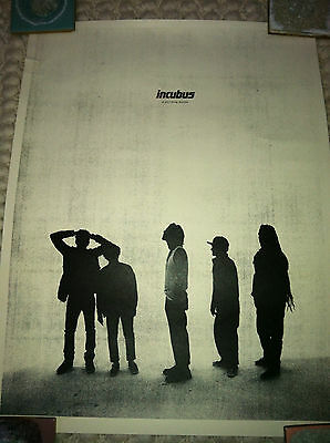 """Incubus """"If Not Now, When?"""" RARE Collectible Poster"""