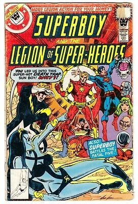 SUPERBOY & THE LEGION #246 (12/78)--GD / Scarce Whitman Variant; Mike Grell-c^*^