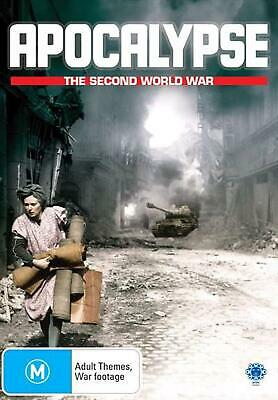 Apocalypse- The Second World War - DVD Region 4 Free Shipping!